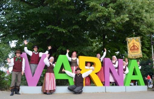 """Plungės kultūros centro folkloro ansamblio """"Gondinga"""" viešnagė Bulgarijoje"""