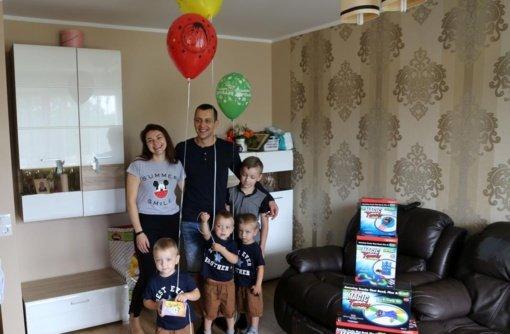 Atšventę gimtadienį, Karmėlavos trynukai keliaus prie jūros