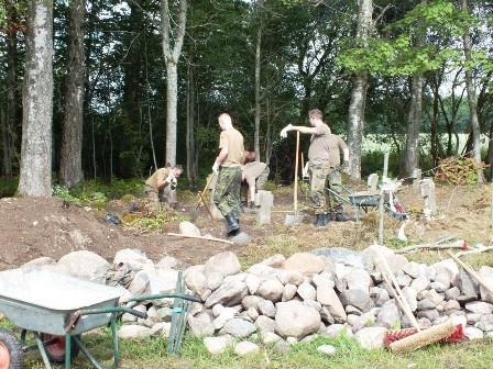 Kviečiame susipažinti su Vokietijos karių įspūdžiais po darbo stovyklos Kupiškio rajone