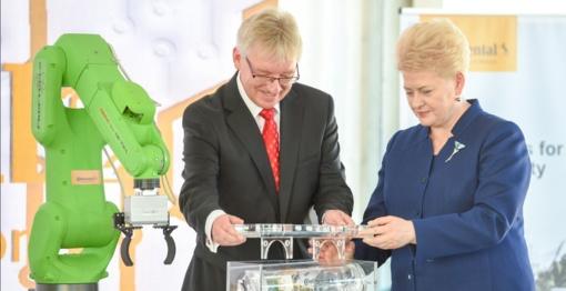 Solidi vokiška investicija – paskata inovatyvios ekonomikos vystymui