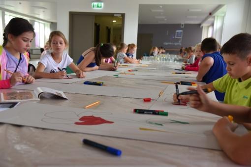 Vasaros meno mokykla Šalčininkuose: bus daug gėlių! (fotogalerija)