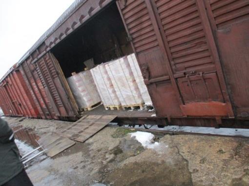 Sulaikyta 2,5 mln. pakelių cigarečių kontrabandos, į Lietuvą ji vis dažniau vežama geležinkeliu