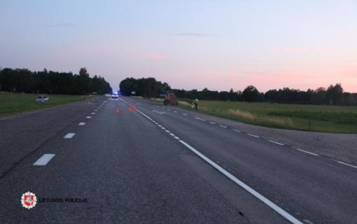 Pirmadienis šalies keliuose: susidūrimo neišvengė vairavimo instruktorius