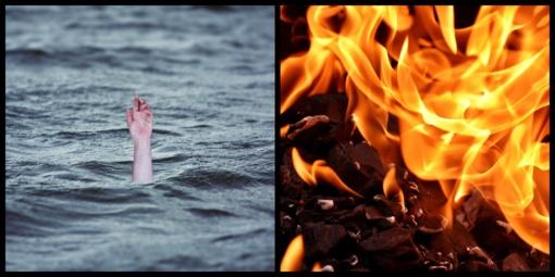 Praėjusią parą gesinti 33 gaisrai, iš vandens telkinių ištraukti du skenduoliai