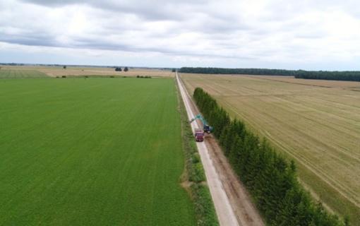 Asfaltu pasidengs dar beveik 140 kilometrų Lietuvos žvyrkelių