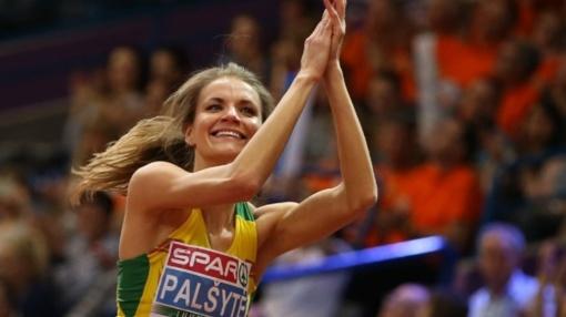 Lietuvos lengvosios atletikos čempionate - A. Palšytės sezono rekordas
