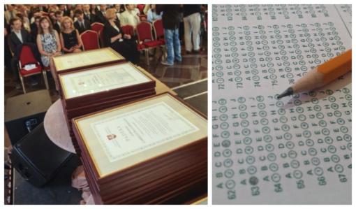 Valdovų rūmuose bus pagerbti geriausiai egzaminus išlaikę abiturientai