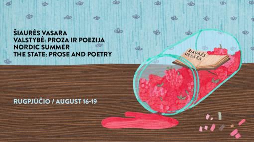 """Tarptautinis literatūros forumas Šiaurės vasara """"Valstybė: proza ir poezija"""""""