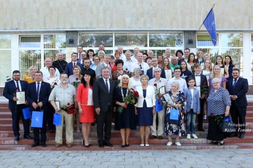 Visagine įvyko iškilmingas savivaldybės tarybos posėdis (nuotraukų galerija)