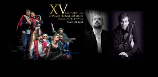 Chaimo Frenkelio vilos vasaros festivalyje šią savaitę – miuziklo premjera ir kamerinės muzikos koncertas