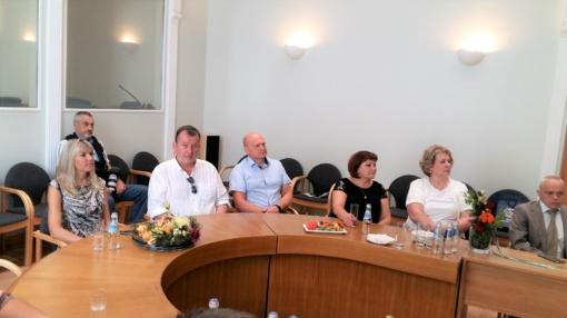 Utenos rajono savivaldybės delegacija dalyvavo Rėzeknės miesto šventėje