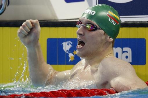 Lietuvos plaukikai pagerino šalies rekordą ir Europos čempionate liko per žingsnį nuo medalio