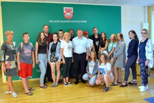 Nuoširdi ukrainiečių padėka už kvietimą dalyvauti Etnokultūrinėje stovykloje