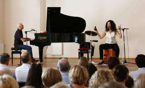 Ukmergėje pristatytas fotoalbumas ir surengtas džiazo atlikėjų koncertas