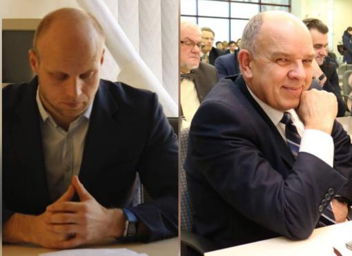 VTEK akiratyje – dar du Tarybos nariai:  A. Lankas ir J. Bartkus