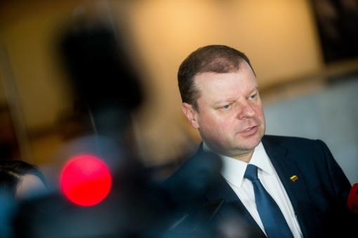S. Skvernelis sprendimą dėl dalyvavimo prezidento rinkimuose praneš kitais metais