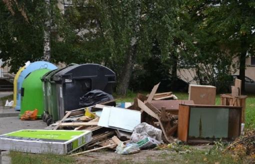 Gyventojus kviečiame rūpintis savo miestu ir tinkamai tvarkyti atliekas!