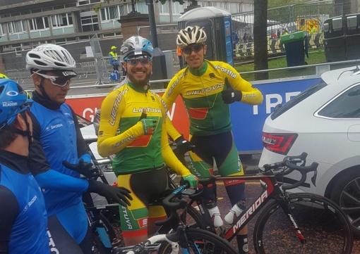 Trys Lietuvos dviratininkai Olandijoje – tarp 30 greičiausių