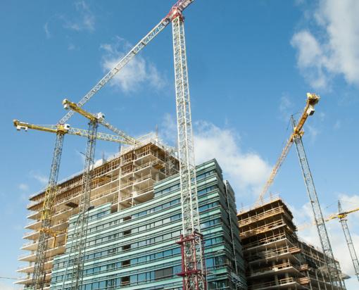 Per ketvirtį statybos darbų apimtis šalyje beveik nepasikeitė