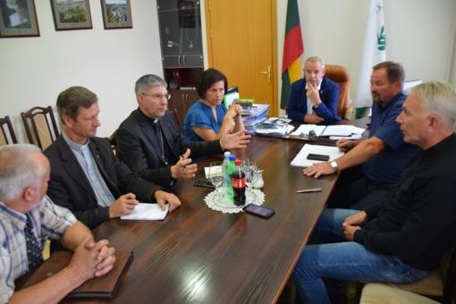 Užsienio delegacijos viešės Šilinių atlaiduose