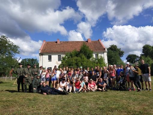 Vaikų ir jaunimo stovykla sujungė skirtingų kultūrų jaunimą