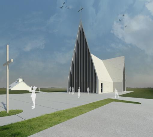 Nauja bažnyčia Mokolų mikrorajone – ne tik vizijose