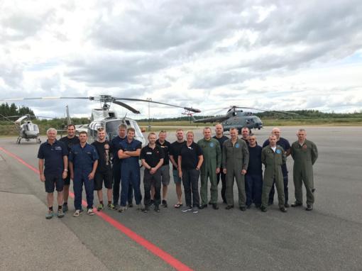Grįžo Lietuvos karo lakūnai, padėję gesinti miškų gaisrus Švedijoje