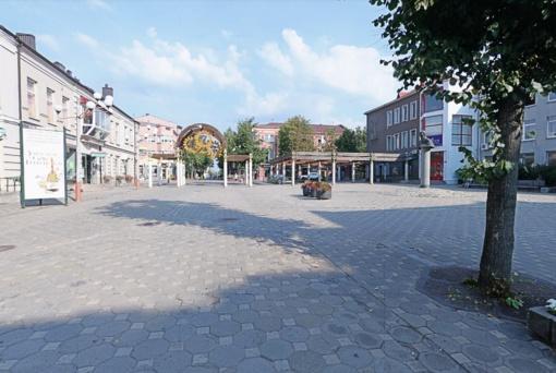 Baigtas senosios Šiaulių bulvaro dalies projektavimas