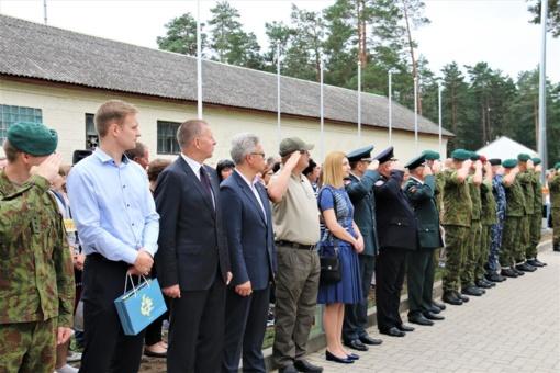 Kęstutiečiai minėjo 26-ąjį bataliono gimtadienį