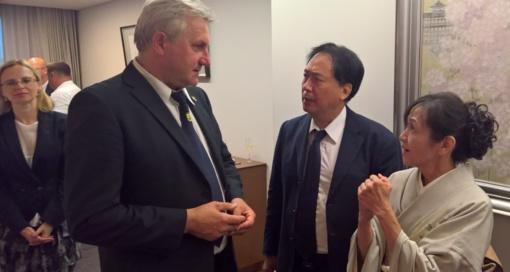 Japonijos ambasadorius Lietuvoje baigė kadenciją