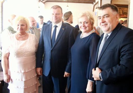 Žolinė Punske: sveikinimai viršaičiui ir susitikimas su Ministru Pirmininku