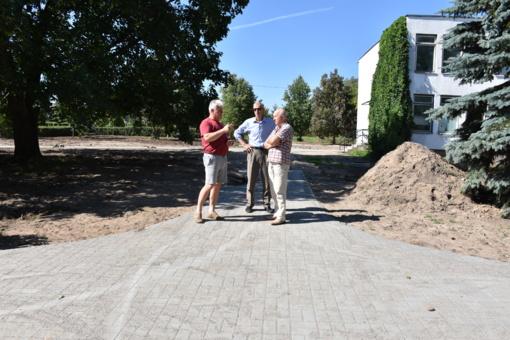 Atnaujinama Senosios Varėnos viešoji infrastruktūra