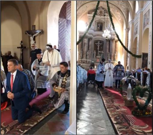 Dėl provokacijos atlaidų metu Turgelių bažnyčioje