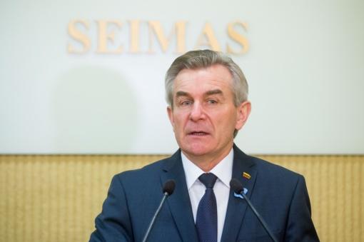Seimo Pirmininkas lankysis Zarasuose