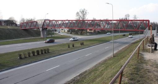 Dėl avarijos Vilniaus Geležinio Vilko gatvėje formuojasi spūstys