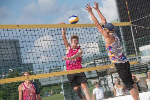 Favoritai užtikrintai žengė į Lietuvos paplūdimio tinklinio čempionato pusfinalius (fotogalerija)