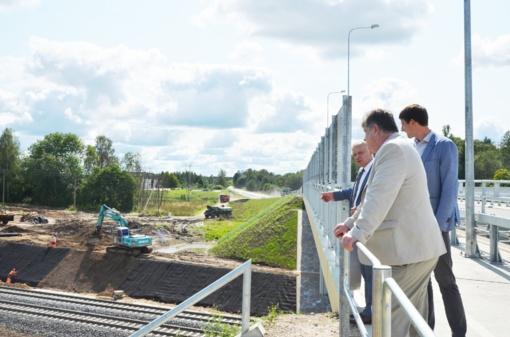 Naujasis geležinkelio viadukas – jau atidarytas