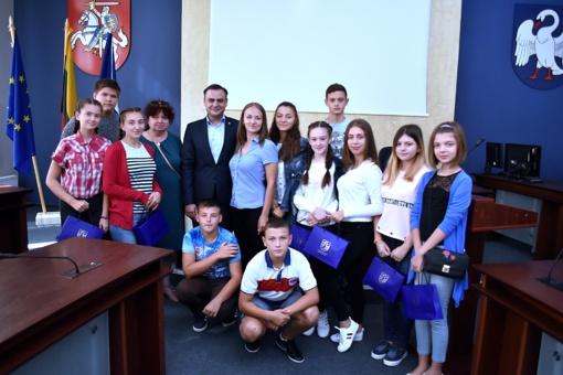 Jonavos savivaldybėje apsilankė svečias iš Moldavijos