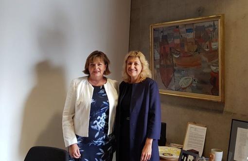 Kultūros ministrė: Lietuva atvira platesniems kultūriniams ryšiams su Škotija