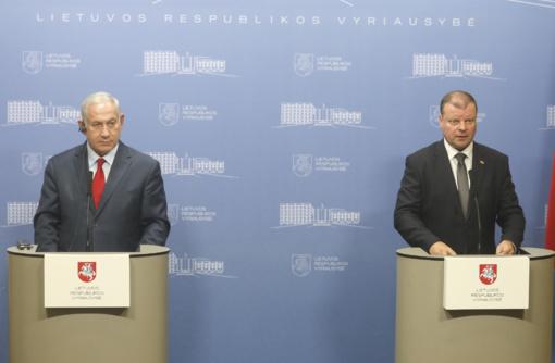 Izraelio ministras pirmininkas: mažos šalys gali turėti įtaką didelėms šalims technologijų dėka