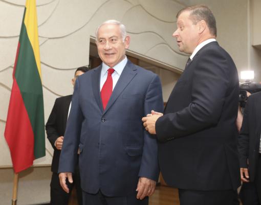 Premjeras: Izraelis - mūsų strateginis partneris Artimųjų Rytų regione