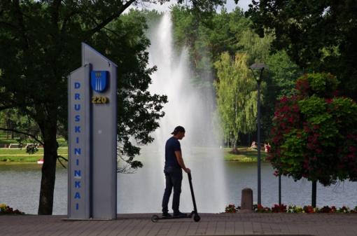 Druskininkuose pradedamas statyti kultūros centras