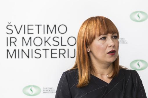 Pristatydama švietimo naujoves ministrė įvardijo ir didžiausius sistemos skaudulius