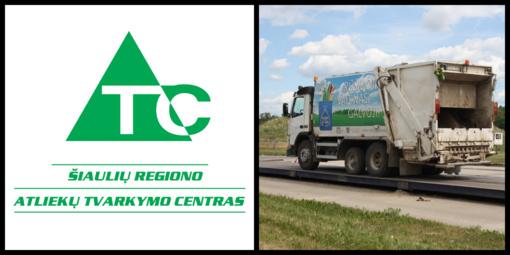 Šiaulių regiono atliekų tvarkymo centro klientų dėmesiui!