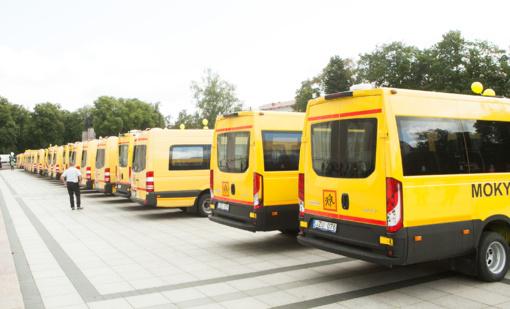 Šiemet į mokyklas išriedės apie 160 naujų geltonųjų autobusiukų