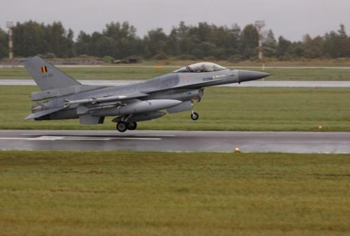 NATO oro policijos misijos Baltijos šalyse rotacija: portugalus ir ispanus keičia belgai