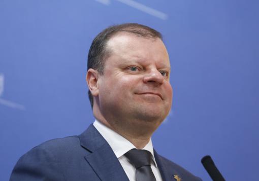 S. Skvernelis palaiko Seimo narių skaičiaus mažinimą
