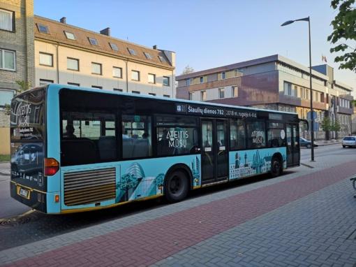 """Nemokamų autobusų tvarkaraščiai """"Šiaulių dienų"""" metu"""