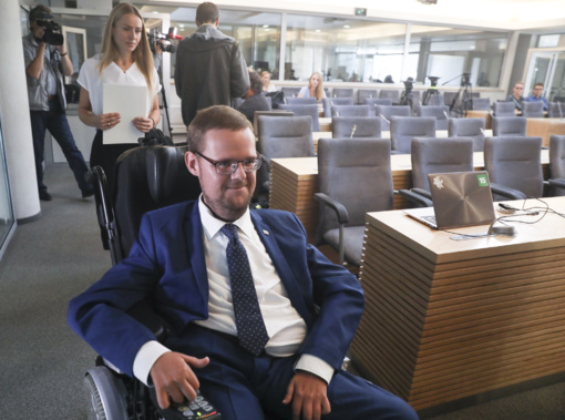 J. Džiugelis gali netekti Seimo Neįgaliųjų teisių komisijos pirmininko pareigų