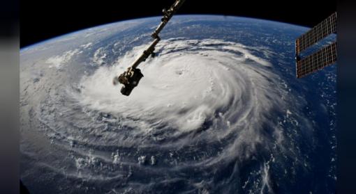 """""""Florence"""" sustiprėjo iki 4 kategorijos uragano, sako JAV meteorologai"""